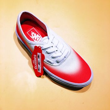"""Vans Authentic """"Ombre Pink/True White"""" Sport Shoes Sneakers"""