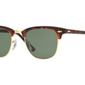 Check out Ray-Ban RB3016 49 CLUBMASTER sunglasses from Sunglass Hut http://www.sunglasshut.com/us/805289346913