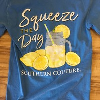 """Southern Couture """"Squeeze The Day"""" Tee"""