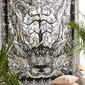 Magical Thinking Tree Of Life Tapestry