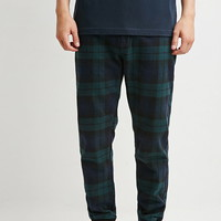 Plaid Flannel Joggers | 21 MEN - 2000172338