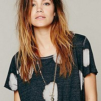 We The Free   Dot Wash Tee at Free People Clothing Boutique
