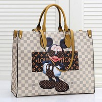 LV Louis Vuitton Fashion Women Leather Handbag Shoulder Bag Satchel
