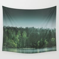 Echoes III Wall Tapestry by HappyMelvin