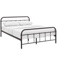 Maisie Queen Stainless Steel Bed Frame