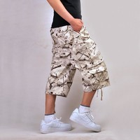 Summer Pants With Pocket Rinsed Denim Jeans [6542523459]