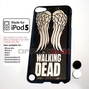 Team Wings The Walking Dead Design for iPod 5 Case