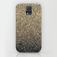 Samsung Galaxy S5 Galaxy S4 iPhone 6 iPhone 6 Plus iPhone 5 iphone 5s iphone 5c iphone 4 iphone 4s iPhone 3 Phone Case. Gold Ombre Glitter