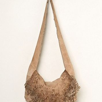 Free People Womens Heirloom Lace Bag - Antique Brown, One Size