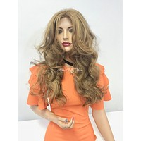 Balayage lace front wig - Golden Today
