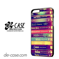 Walt Disney All Book Princess DEAL-11800 Apple Phonecase Cover For Iphone 6/ 6S Plus
