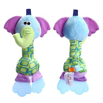 Kids Baby Toys Rattles Soft Toy Dolls Animals Educational Toys for Kids born Children