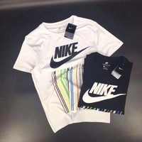 ''NIKE'' Hot letters print T-shirt top
