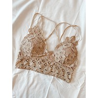 Koko Bralette (Light Taupe)