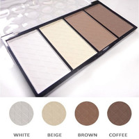 High Quality Makeup Professional 4 Colors Matte Bronzer Highlighter Powder Contour Palette Cheek V Face Decorate Free Shipping