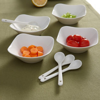 Flato Home Shallow Appetizer 8 Piece Dish Set