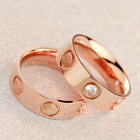 """Cute couple rings women ring """"Cartier"""" rhinestone  ring on simplicity"""