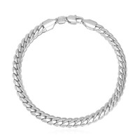 18K Real Gold/Silver/Rose-Gold Plated Figaro Chain Bracelet Jewelry 3 Colors