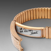 Rebecca Minkoff Pave Watch Band Bracelet in Rose Gold from REVOLVEclothing.com