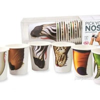 ANIMAL NOSE CUPS