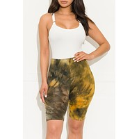Top Of The World Shorts Mustard