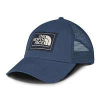 Mudder Trucker Hat in Shady Blue & Urban Navy by The North Face
