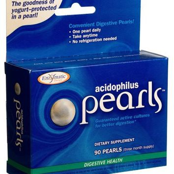Enzymatic Therapy Acidophilus Pearls (90 Capsules) | deviazon.com