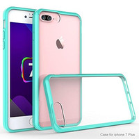 Apple iPhone 7 Plus Case, Easy Grip Slim Armor Bumper Case for Iphone 7 Plus - Teal