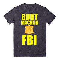 BURT MACKLIN FBI PARKS AND REC SHIRT