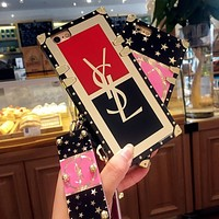 mieniwe? YSL Fashion iPhone Phone Cover Case For iphone 6 6s 6plus 6s-plus 7 7plus iPhone8
