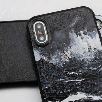 Luxury 3D Painted iPhone X Case