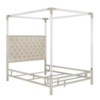 Koepke Upholstered Canopy Bed