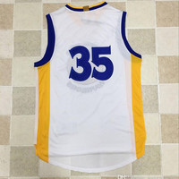 free shipping!!!! basketball jersey authentic style #35 2016 new jersey (thick stitched,durable washed!!! best quality of here)