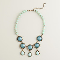 Blue and Green Statement Necklace - World Market