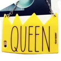 Queenin - case cover For iphone 6 6s and 6plus