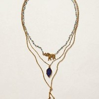 Trios Necklace by Anthropologie Gold One Size Necklaces