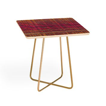 Elisabeth Fredriksson Quirky Stripes Side Table