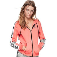 Victoria's Secret PINK Women Sports Long Sleeve Cardigan Jacket Coat
