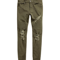 Biker Jeans - from H&M