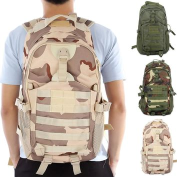 2017 Hot BL021 35L Outdoor Bag Tactical Camouflage Backpack Bags Rucksack for Outdoor Sport Climbing Hiking Camping