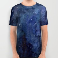 The Final Frontier  All Over Print Shirt by Olechka