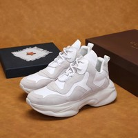 Gucci Men's Leather Sports Sneakers Shoes