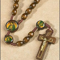 Our Lady of Guadalupe Devotional Cord Rosary (50% OFF)