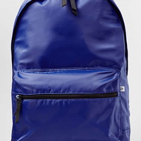 Blue Shiny Backpack