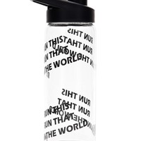 Active Run Graphic Water Bottle