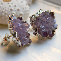 High Quality Amethyst Rose Drusy / by NYCJewelrydesign