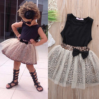 Toddler Girl Clothing Sets Vest + Shorts 2 Pics Suits 2016 New Summer Children Clothing Sets Baby