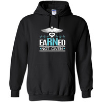 Earned Not Given RN tshirt