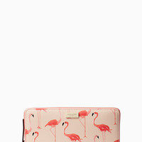 Kate Spade New York Shore Street Flamingo Wallet