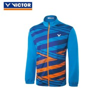New Victor National Team Competition Tournament Series Badminton Jersey Long Sleeve Sweater For Men 80600